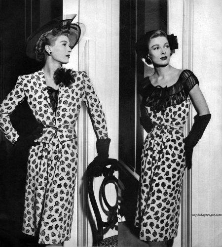 Мода 40-х годов фото сша