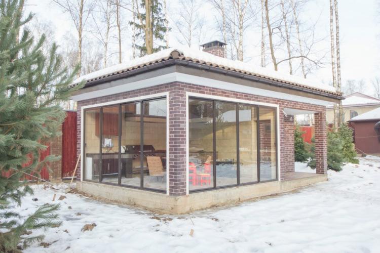 Проектирование зоны отдыха во дворе | ИнноваСтрой