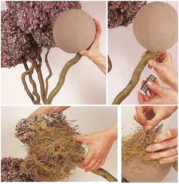 Самодельные деревья своими руками фото