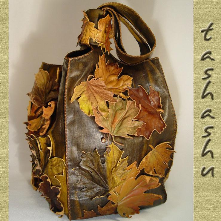 Как сшить кожаную сумку своими руками дома Мастеркласс