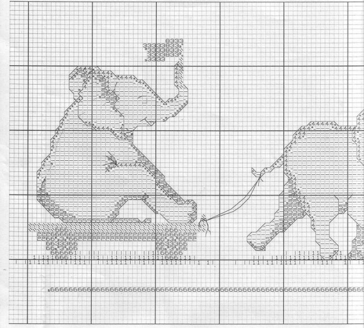 Семь слоников вышивка отзывы 59